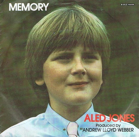 "ALED JONES Memory 7"" Single Vinyl Record 45rpm BBC 1985"