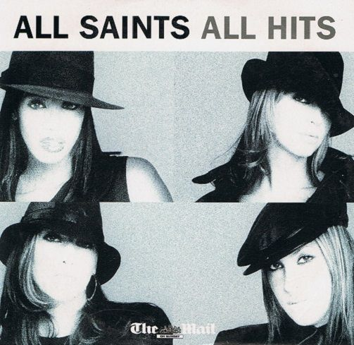 ALL SAINTS All Hits CD Album London 2008 Promo