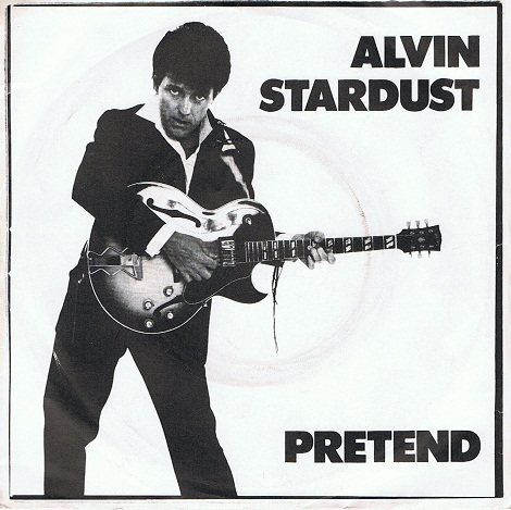 "ALVIN STARDUST Pretend 7"" Single Vinyl Record 45rpm Stiff 1981"
