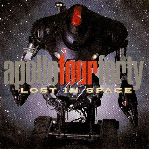 APOLLO FOUR FORTY Lost In Space CD Single Stealth Sonic 1998