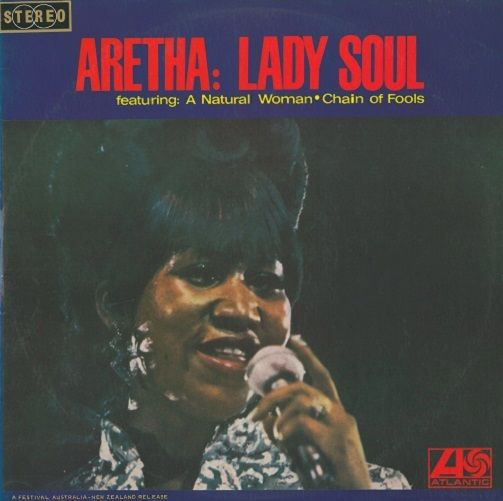 Aretha Franklin Lady Soul Vinyl Record Lp Australian