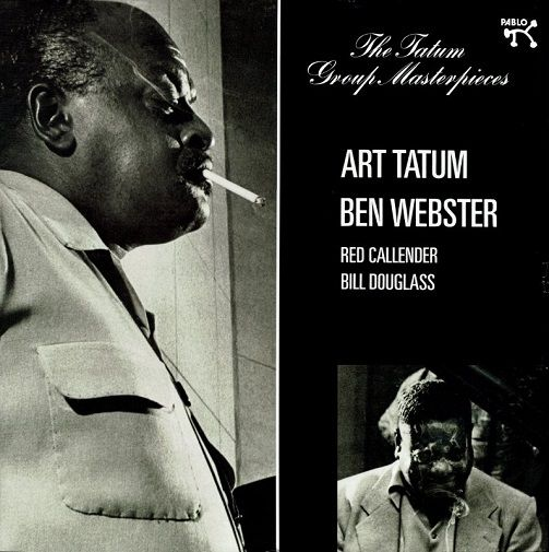 ART TATUM AND BEN WEBSTER The Tatum Group Masterpieces Vinyl Record LP Pablo 2018