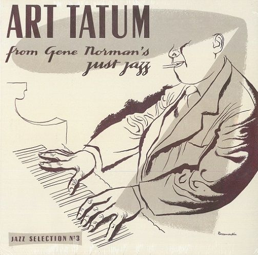 ART TATUM From Gene Norman's Just Jazz Vinyl Record LP Disques Vogue 2017 Brown Vinyl