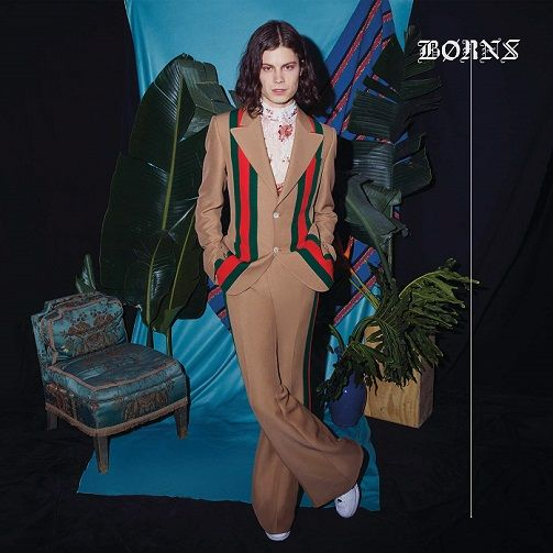 BØRNS (BORNS) Blue Madonna Vinyl Record LP Interscope 2018
