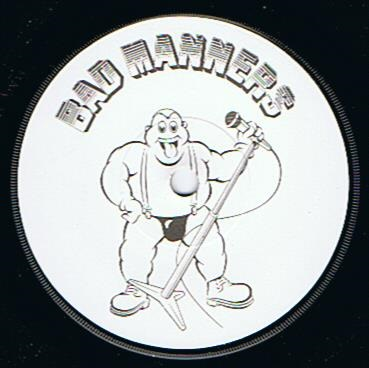 BAD MANNERS Lip Up Fatty Vinyl Record 7 Inch Magnet 1980