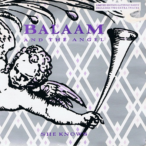 "BALAAM AND THE ANGEL She Knows 7"" Single Vinyl Record 45rpm Double Pack Virgin 1986"