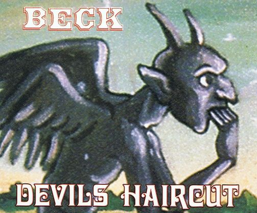 BECK Devils Haircut CD Single Geffen 1996