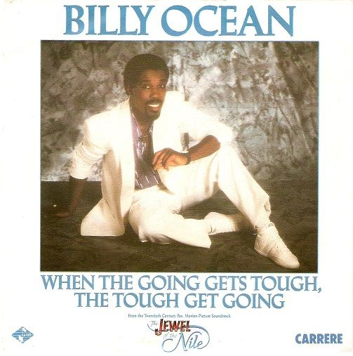 BILLY OCEAN When The Going Gets Tough, The Tough Get Going Vinyl Record 7 Inch French Carrere 1986