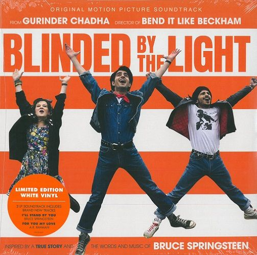 Blinded By The Light - Original Motion Picture Soundtrack Vinyl Record LP Columbia 2019 White Vinyl
