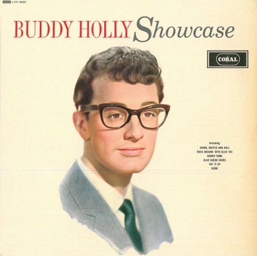 BUDDY HOLLY Showcase Vinyl Record LP Coral 1964