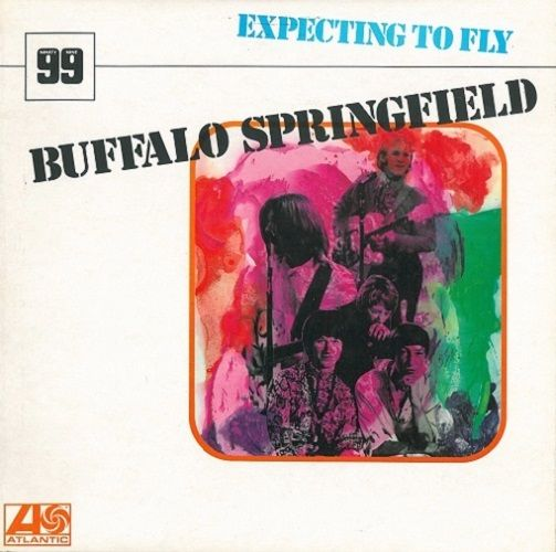 BUFFALO SPRINGFIELD Expecting To Fly Vinyl Record LP Atlantic 1970