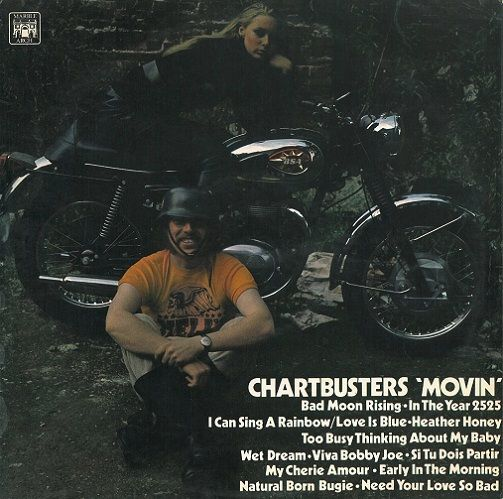 Chartbusters 'Movin' Vinyl LP | Planet Earth Records