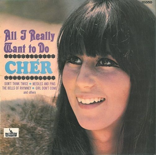 CHER All I Really Want To Do Vinyl Record LP Liberty 1965
