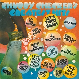 CHUBBY CHECKER Greatest Hits Vinyl Record LP London 1976