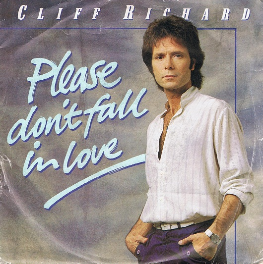 "CLIFF RICHARD Please Don't Fall In Love 7"" Single Vinyl Record 45rpm EMI 1983"