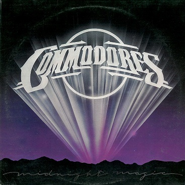 COMMODORES Midnight Magic LP Vinyl Record Album 33rpm STMA 8032 Motown 1979