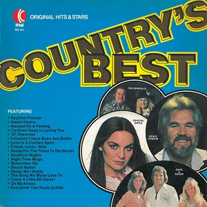 Country's Best Vinyl Record LP Canadian K-Tel 1979