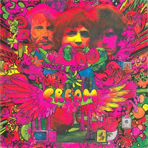 Cream Disraeli Gears Vinyl Record Lp Reaction 1967