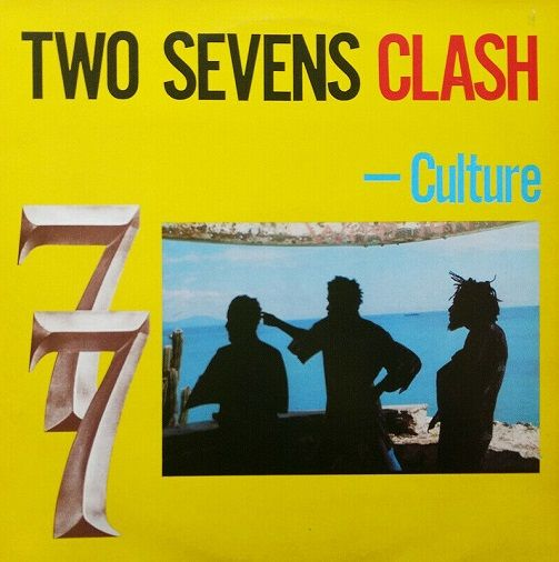 CULTURE Two Sevens Clash Vinyl Record LP Joe Gibbs Record Globe