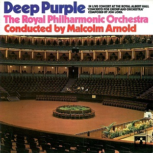 DEEP PURPLE Concerto For Group And Orchestra Vinyl Record LP Harvest 1970