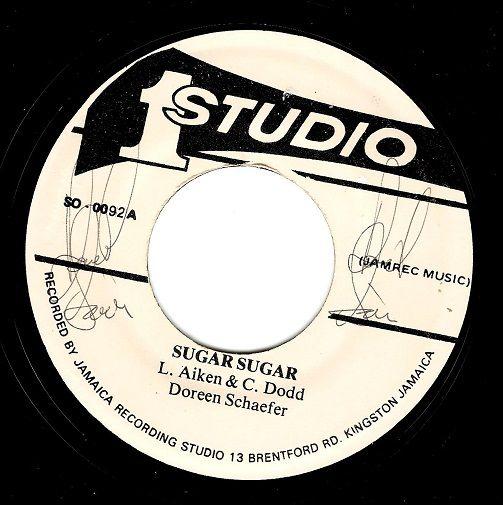 Doreen Shaffer Sugar Sugar Vinyl Record 7 Inch Jamaican