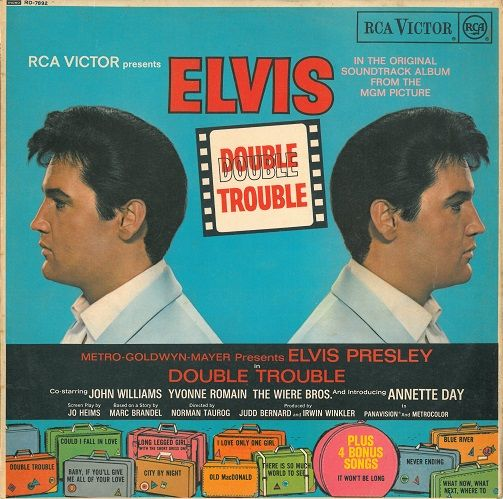 Elvis Presley Double Trouble Record Album | Planet Earth Records
