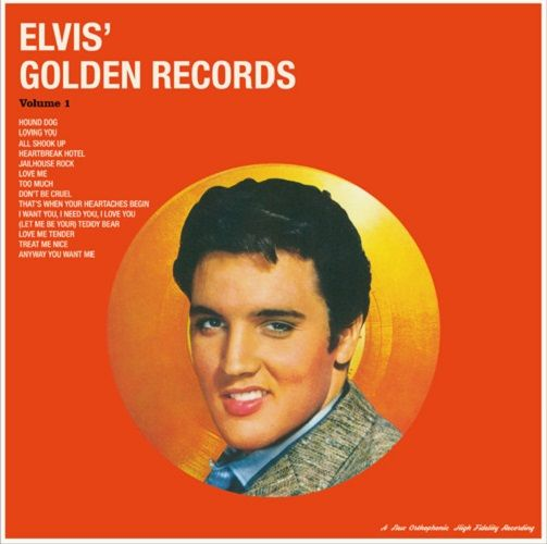 ELVIS PRESLEY Elvis' Golden Records Vol. 1 Vinyl Record LP Vinyl Lovers 2016