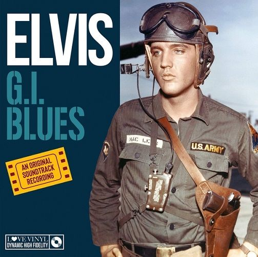 ELVIS PRESLEY G.I. Blues Vinyl Record LP My Generation Music 2018