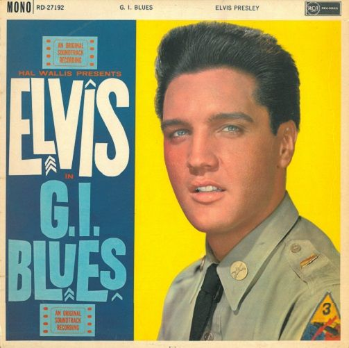 ELVIS PRESLEY G.I. Blues Vinyl Record LP RCA Victor 1968