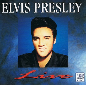 ELVIS PRESLEY Live CD Album Tring