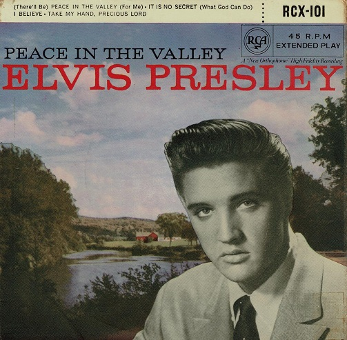 ELVIS PRESLEY Peace In The Valley EP Vinyl Record 7 Inch RCA 1961
