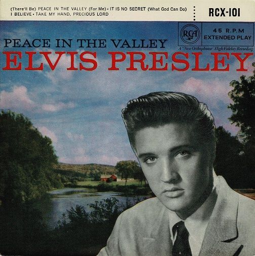 ELVIS PRESLEY Peace In The Valley EP Vinyl Record 7 Inch RCA 1962