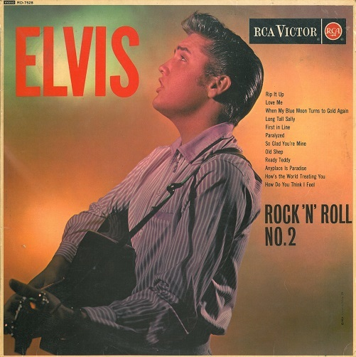 ELVIS PRESLEY Rock 'N' Roll No. 2 Vinyl Record LP RCA Victor 1962