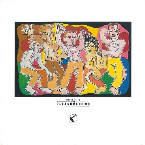 FRANKIE GOES TO HOLLYWOOD Welcome To The Pleasuredome Vinyl Record LP ZTT 1984