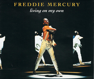 FREDDIE MERCURY Living On My Own CD Single Parlophone 1993