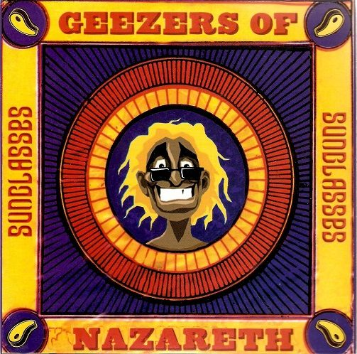 GEEZERS OF NAZARETH Sunglasses Vinyl Record 7 Inch Rodeo Meat 2001