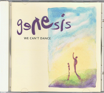 GENESIS We Can't Dance CD Album Virgin 1991