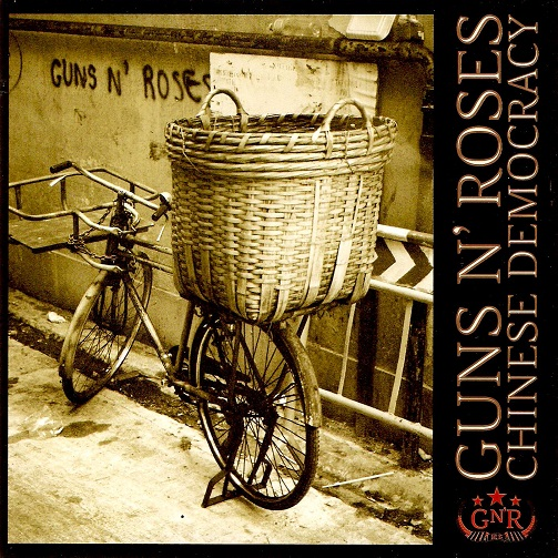 Guns N' Roses Chinese Democracy CD Album | Planet Earth Records