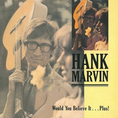 HANK MARVIN Would You Believe It Plus Vinyl Record LP See For Miles 1989