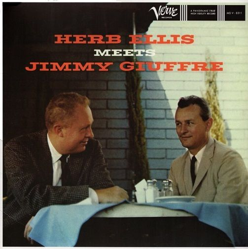 HERB ELLIS AND JIMMY GIUFFRE Herb Ellis Meets Jimmy Giuffre Vinyl Record LP Verve 2017