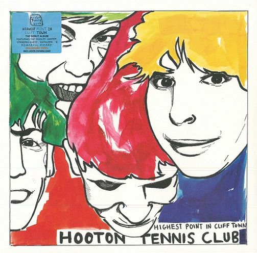 HOOTON TENNIS CLUB Highest Point In Cliff Town Vinyl Record LP Heavenly 2015 Orange Vinyl
