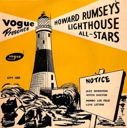 HOWARD RUMSEY'S LIGHTHOUSE ALL-STARS Vol 2 EP Vinyl Record 7 Inch Vogue 1954
