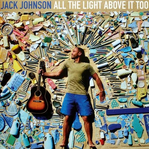JACK JOHNSON All The Light Above It Too Vinyl Record LP Bushfire 2017