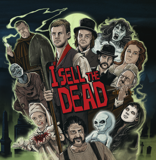 JEFF GRACE I Sell The Dead - Soundtrack Vinyl Record LP Deep Focus 2015 Red Vinyl