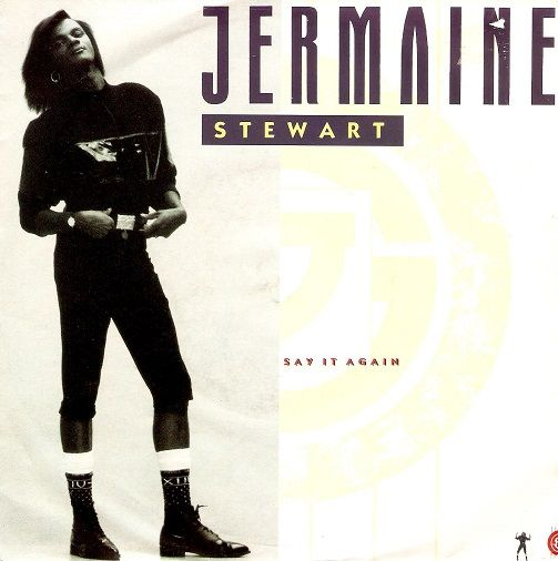 JERMAINE STEWART Say It Again Vinyl Record 7 Inch 10 1987