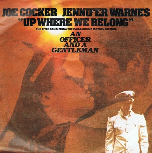 Joe Cocker Amp Jennifer Warnes Up Where We Belong 7 Single