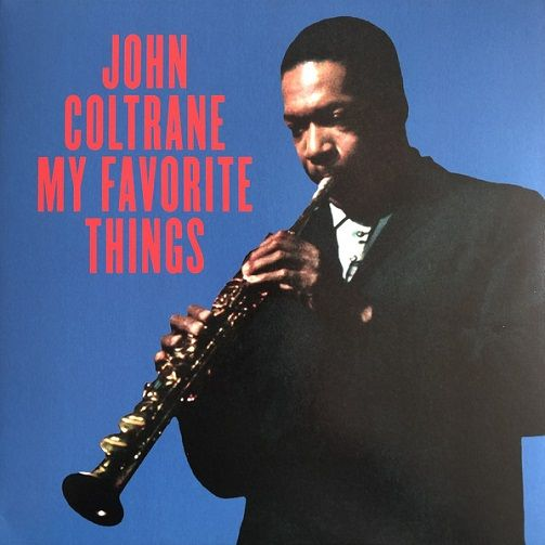 JOHN COLTRANE My Favorite Things Vinyl Record LP Ermitage
