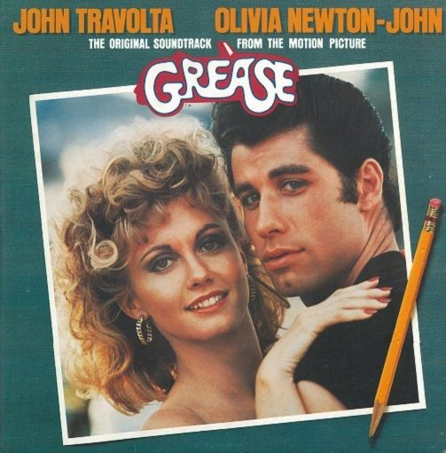 John Travolta And Olivia Newton John Grease Vinyl Record