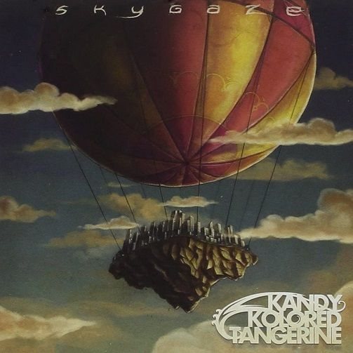 KANDY KOLORED TANGERINE Skygaze Vinyl Record LP EMI Music 2012