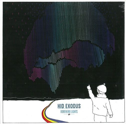KID EXODUS Northern Lights EP Vinyl Record 12 Inch Columbia 2013